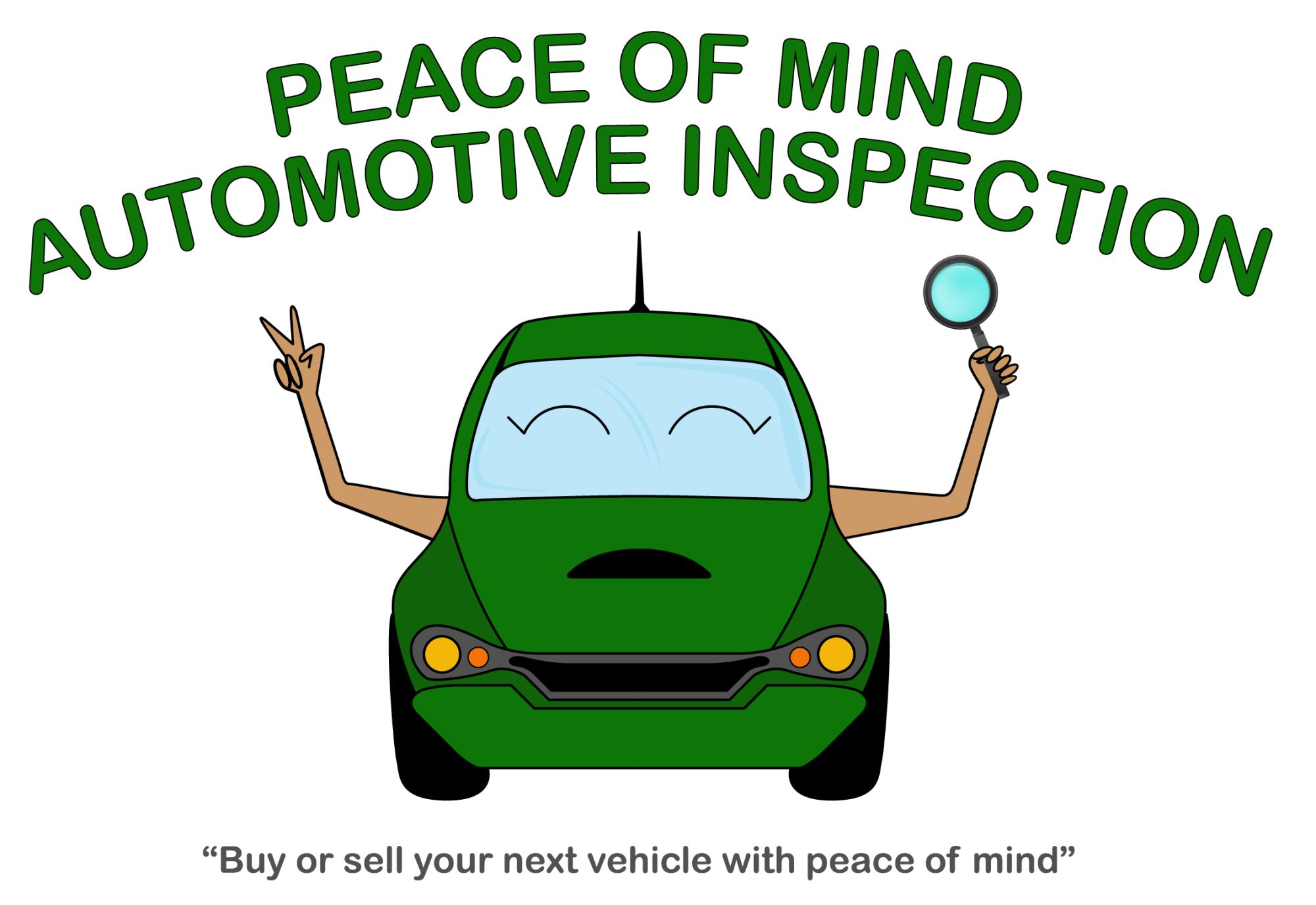 Peace of Mind Automotive Inspection - Pre Purchase Vehicle Inspection - Mobile service (Texas)